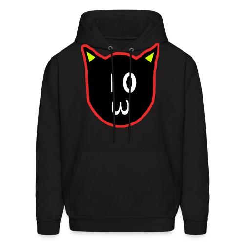 Creepy Cat Hoodie - Men's Hoodie