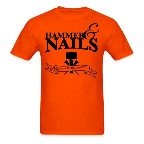 hammer & nails - Men's T-Shirt