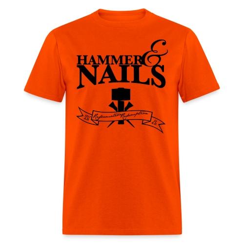 hammer & nails - Men's T-Shirt