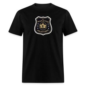 Mapleton PD Shield - Men's T-Shirt