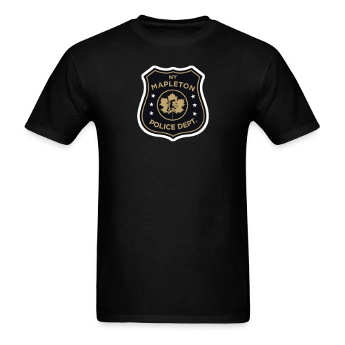 Mapleton PD Shield - Men's T-Shirt