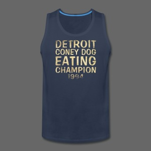 Coney Dog Eating Champion - Men's Premium Tank
