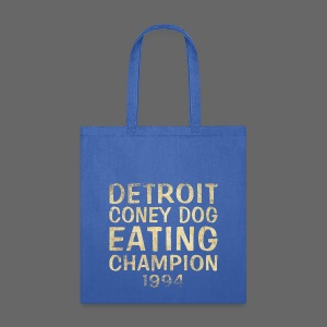 Coney Dog Eating Champion - Tote Bag