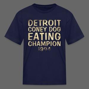 Coney Dog Eating Champion - Kids' T-Shirt