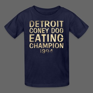 Coney Dog Eating Champion - Kids' T-Shirt