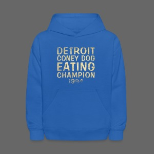 Coney Dog Eating Champion - Kids' Hoodie