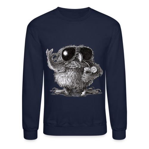 Cool Owl - Crewneck Sweatshirt