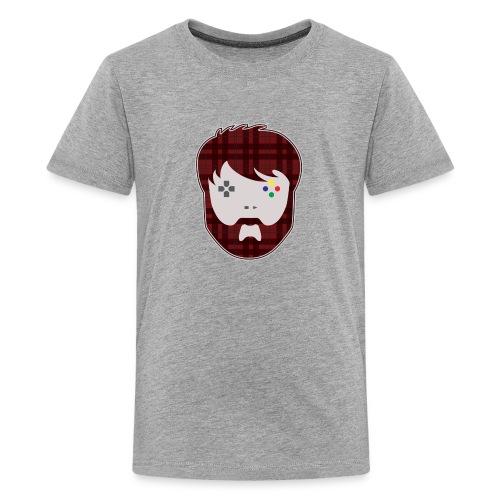 MathasGames Head Logo Kids - Kids' Premium T-Shirt