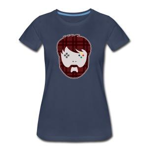 MathasGames Head Logo Womens - Women's Premium T-Shirt