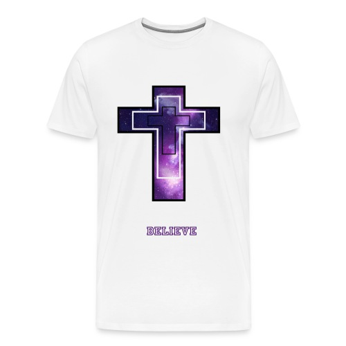 Premium Cross T - Men's Premium T-Shirt
