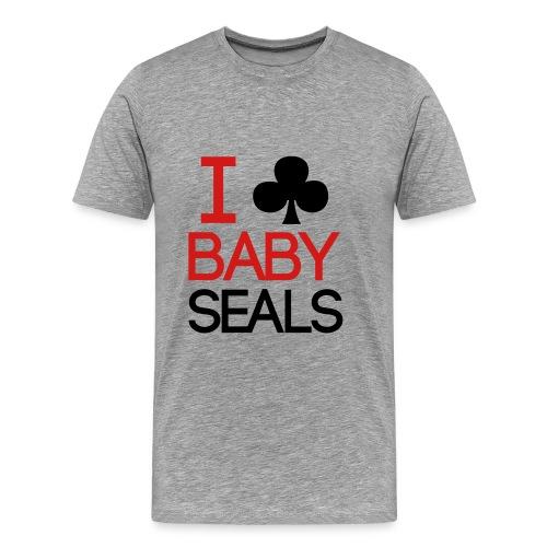 I Club Baby Seals - Men's Premium T-Shirt