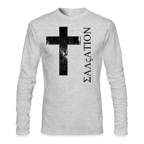 Salvation (Greek Letters) - Men's Long Sleeve T-Shirt by Next Level