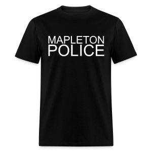 Mapleton Police (Simple) Male - Men's T-Shirt