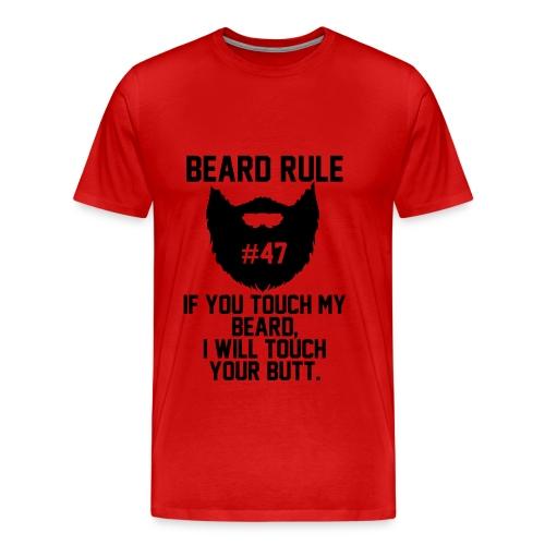 Beard Rule #47 - Men's Premium T-Shirt