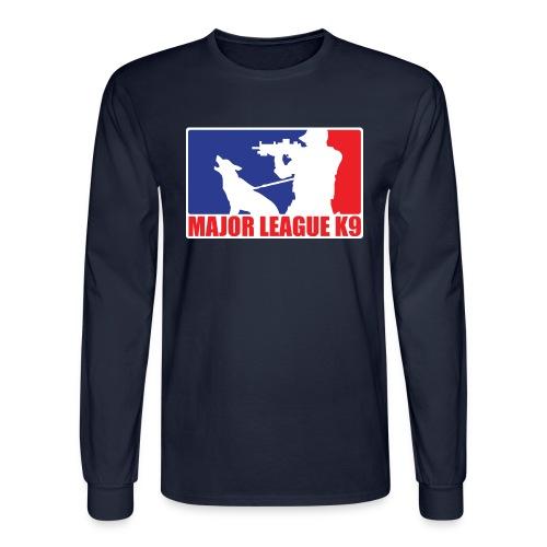 Major League K9 Original - Men's Long Sleeve T-Shirt