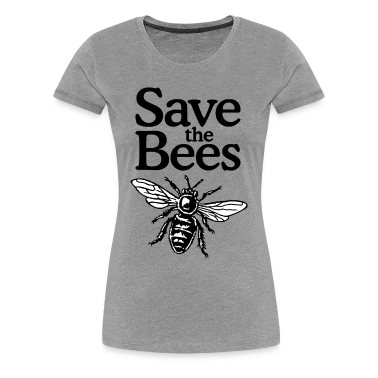 Save The Bees Beekeeper Quote Design Two Color T Shirt