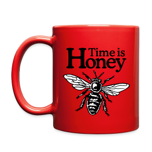 Time Is Honey Beekeeper Mug - Full Color Mug