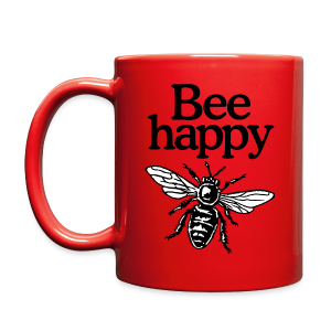 Bee Happy Beekeeper Mug - Full Color Mug