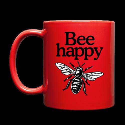 Bee Happy Beekeeper Quote Design (two-color)