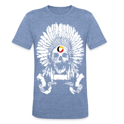 Luxe Skull Tee (Unisex) - Unisex Tri-Blend T-Shirt