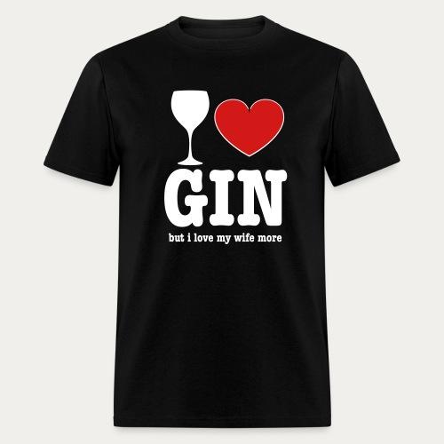 I ♥ Gin - Men's T-Shirt