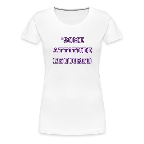 Official Team Zordon Ladies Attitude Tee - Women's Premium T-Shirt