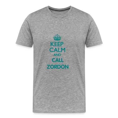 Official Team Zordon Keep Calm Tee - Men's Premium T-Shirt
