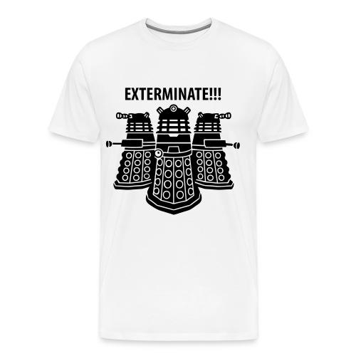 Dalek Exterminate T-shirt - Men's Premium T-Shirt