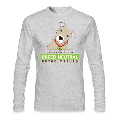 Long-sleeve front and back logos - Men's Long Sleeve T-Shirt by Next Level