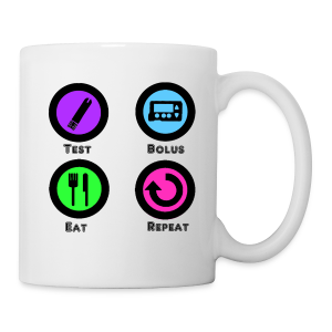Test Bolus Eat Repeat - Coffee/Tea Mug