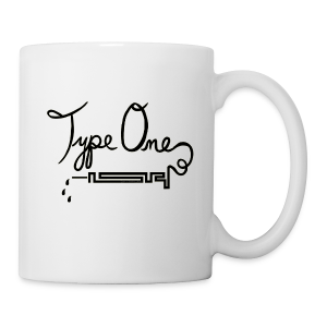 Type One - Needle Design -Black - Coffee/Tea Mug