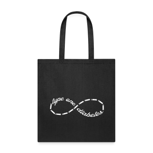 Type One Diabetes Infinity Sign  - Tote Bag