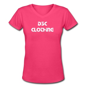 Women's d3c T - Women's V-Neck T-Shirt
