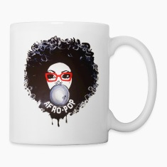 Afro pop_Global Couture Mugs & Drinkware