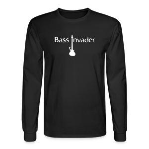Bass Invader Long Sleeve with Bass - Men's Long Sleeve T-Shirt