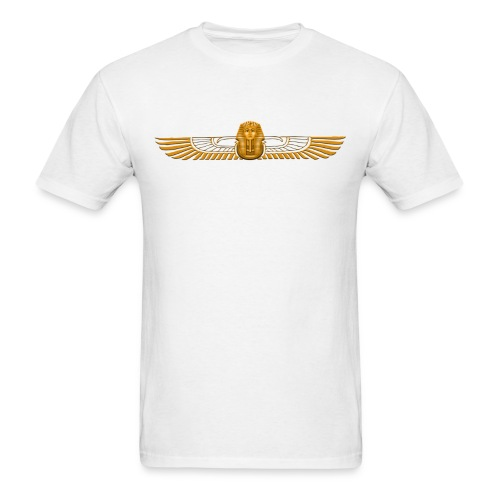 Winged Golden Pharaoh - Men's T-Shirt