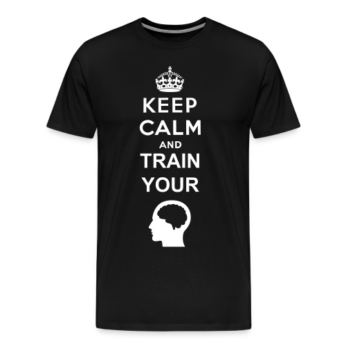 Train Your Brain - Men's Premium T-Shirt