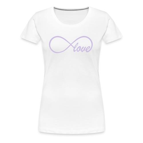 Love to Infinity Women's T-Shirt - Women's Premium T-Shirt