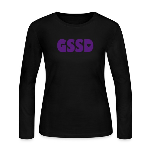 Women's Long Sleeved GSSD Jersey TShirt - Women's Long Sleeve Jersey T-Shirt