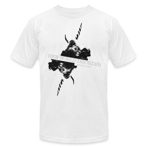 NEW WORLD DISORDER - Men's Fine Jersey T-Shirt