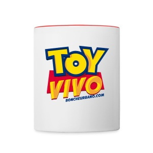 Toy Vivo MUG - Contrast Coffee Mug