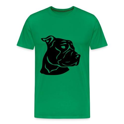 Staffordbladklines  - Men's Premium T-Shirt