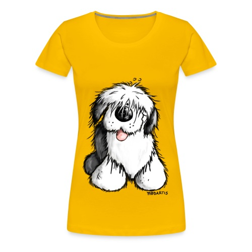 Old English Sheepdog - Dog - - Women's Premium T-Shirt