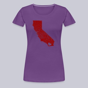 Heart SD  - Women's Premium T-Shirt