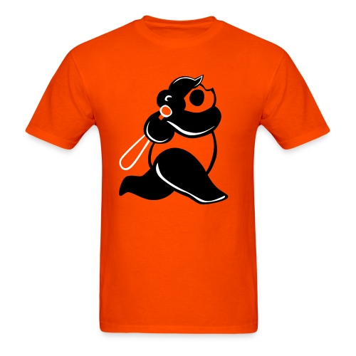 Panda Baseball Swing Basic T-shirt - Men's T-Shirt