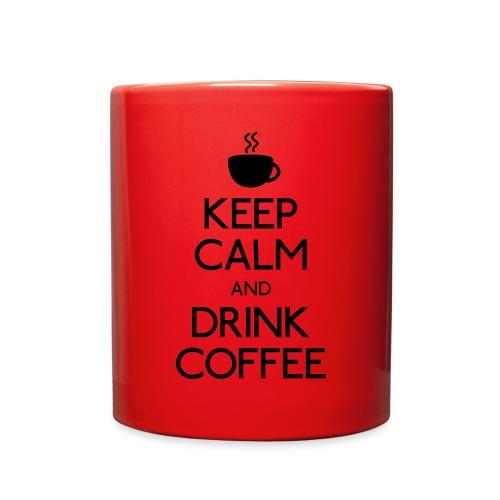 Red mug for coffee - Full Color Mug