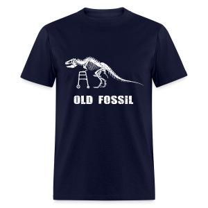 Old Fossil (white) - Men's T-Shirt