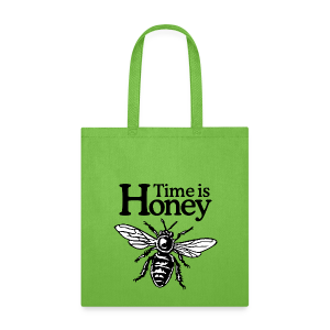 Time is Honey Tote Bag for Beekeepers - Tote Bag