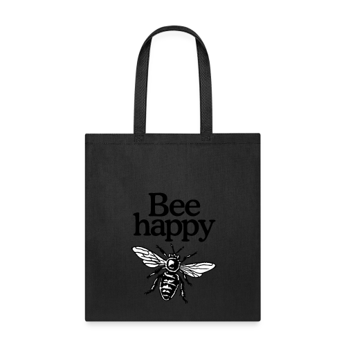 Bee Happy Beekeeper Quote Design (two-color)
