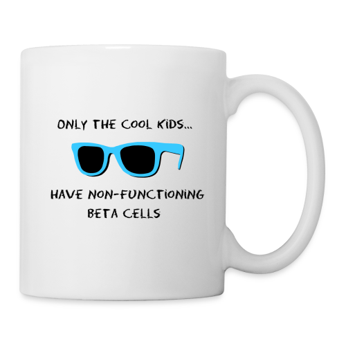 Only the Cool Kids have Non-functioning Beta Cells - Blue - Coffee/Tea Mug